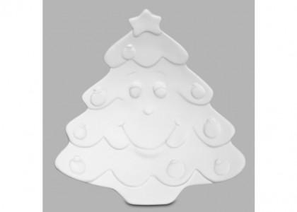 Xmas Tree Dish:6c/s:7.5L