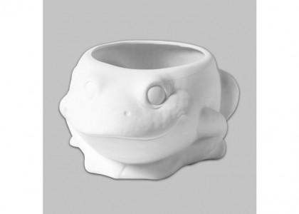 Frog Planter:3c/s:4.5x9.25