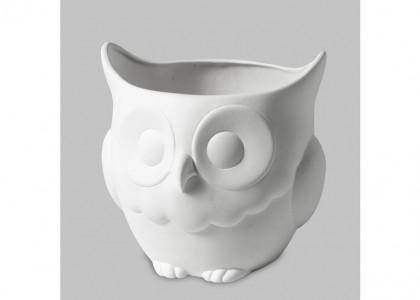 Owl Planter:3c/s:6.25x6.5