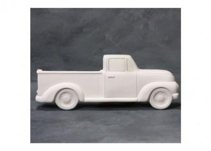 Vintage Truck Plaque: 12.5L x 5