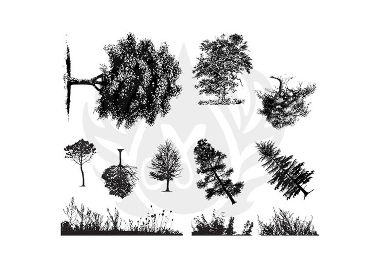 Botanical (Trees) Si
