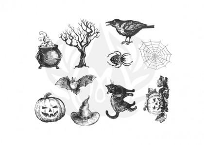 Halloween Silk Scree