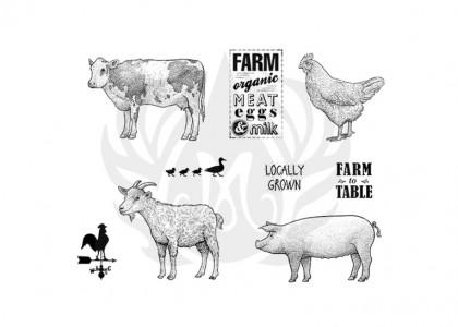 Farmhouse Silkscreen