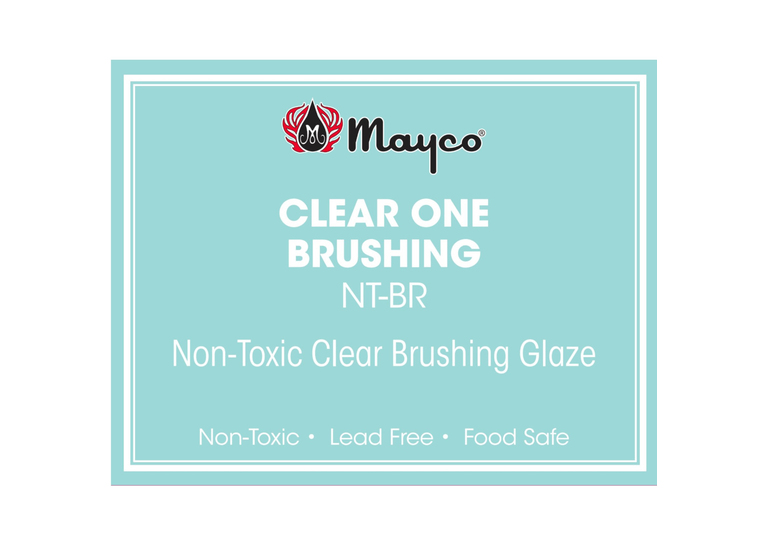 Mayco Clear One - Brushing 1Pint