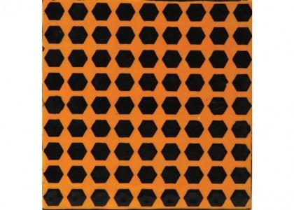 Hexagons Stencil
